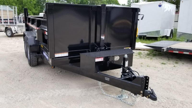 Sure-Trac 82x12 Telescopic Dump Trailer 12k