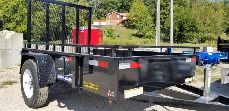 2021 Sure-Trac 5x8 Steel High Side Utility w/Gate 3k