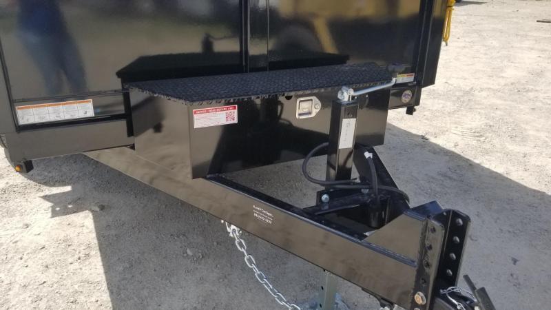 2021 Sure Trac 82x12 Dual Ram Dump Trailer 12k