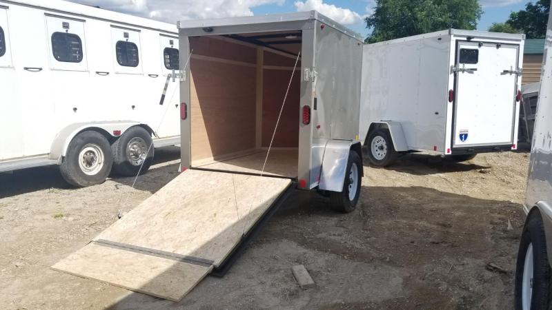 2020 Interstate 5x6 SFC Enclosed Cargo Trailer 3k