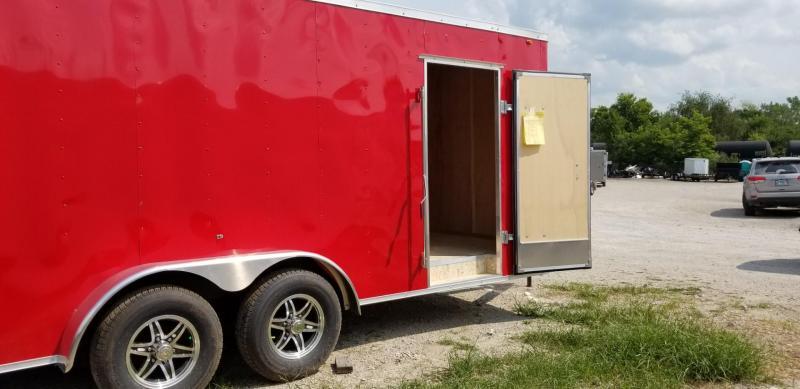 2021 Interstate 7x18 STW Enclosed Cargo Trailer 10k