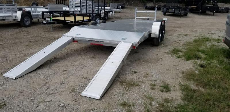 2021 R&R 7x18 All Aluminum Car Hauler 7k