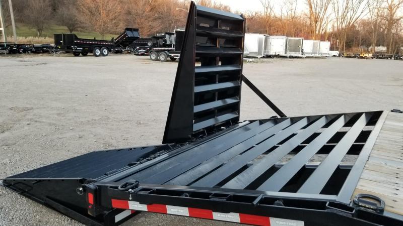2021 Sure-Trac 8.5x20+5 Heavy Duty Equipment Trailer w/Full Width Ramps 20k