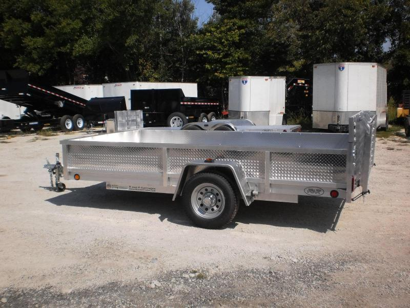 ON ORDER 2020 R and R 6x10 ATP All Aluminum Utility Trailer w/Bifold Gate 3k