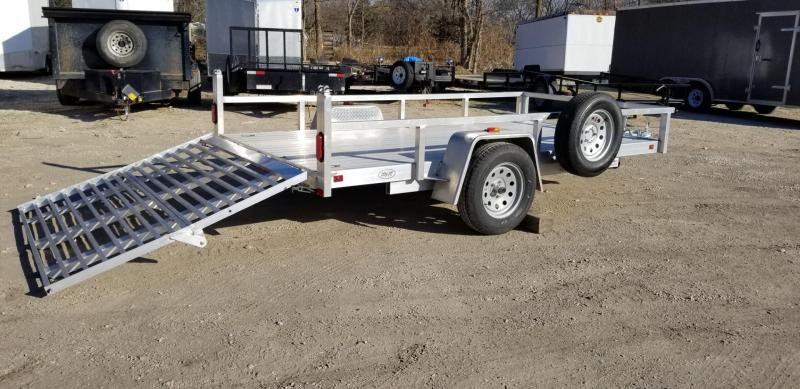 "2020 R&R 6x12 UTA Utility Trailer w/12"" Side Rail 3k"