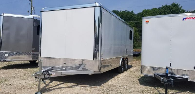 2020 R and R 8x20 DCP Aluminum Deluxe Car Hauler 7k