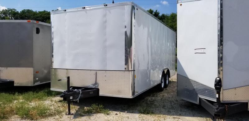 2021 Interstate 8.5x20 ITW Heavy Duty Enclosed Car Hauler Trailer 10k GVWR