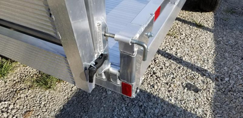 2021 Sure-Trac 7x14 Aluminum Low Side Utility Trailer 3K GVWR