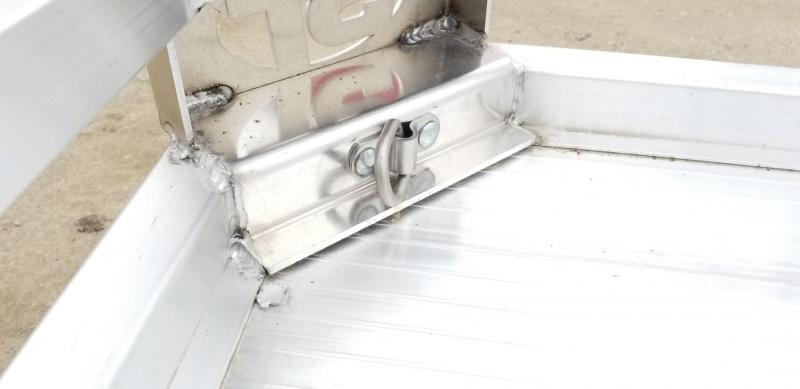 2021 Sure-Trac 7x10 Aluminum Low Side Utility Trailer 3K GVWR