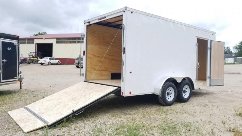 2020 Interstate 7x16 STW Enclosed Cargo Trailer 10k