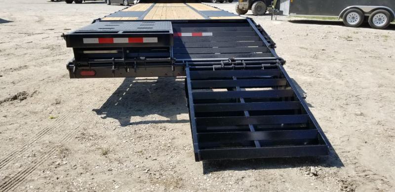 2022 Sure-Trac 8.5x20+5 Deckover Equipment Trailer w/Full Width Ramps 14k