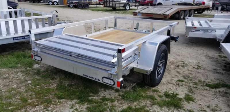 2021 Sure-Trac 5x8 Aluminum Top Tube Utility Trailer 3k GVWR