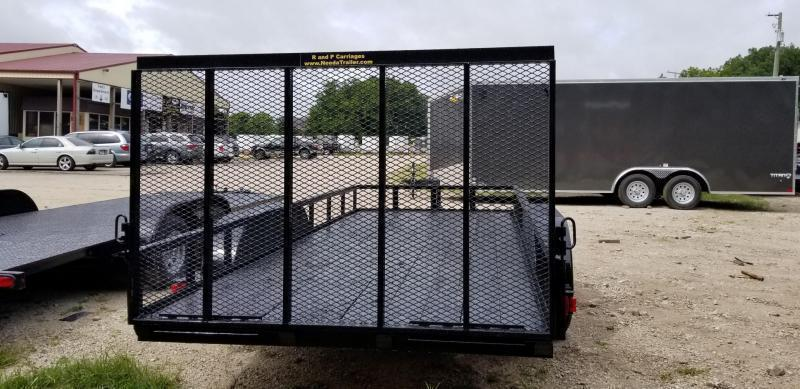 ON ORDER 2020 M.E.B 6.4x16 Utility Trailer w/Gate and Brake 7k