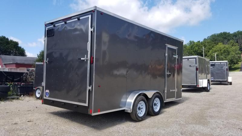 2021 Interstate 7x16 SFC Enclosed Cargo Trailer 7k