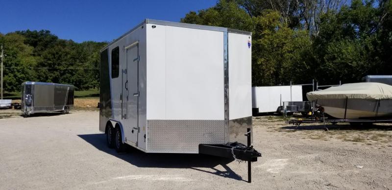 Interstate 8.5x14 IFC Enclosed Cargo Trailer 7k GVWR