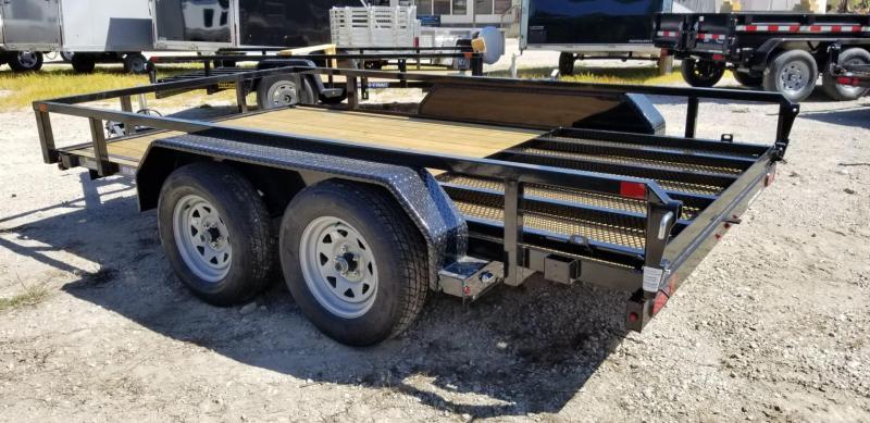 2021 Sure-Trac 7x12 Tube Top Utility Trailer w/Gate 7k