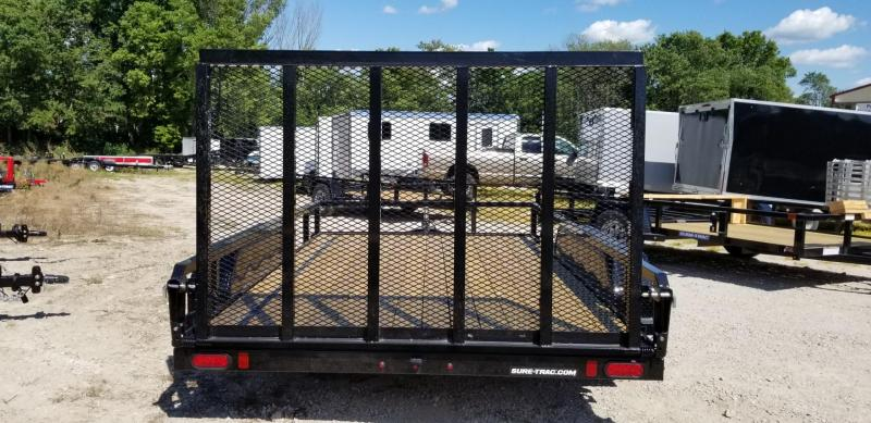 2021 Sure-Trac 7x12 Tube Top Utility Trailer w/Gate 7k