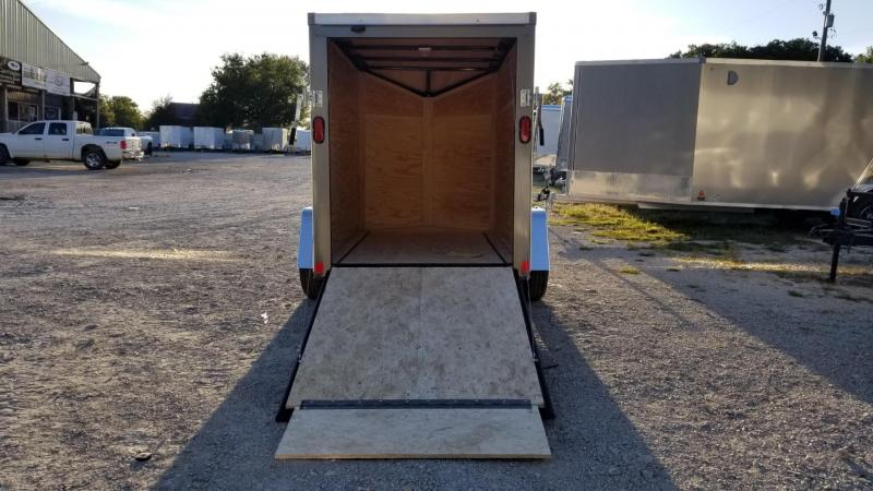 FOR RENT ONLY #3 5x8 Interstate Cargo Trailer