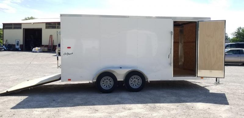 2022 Pace 7x16 Outback Cargo Trailer 7k GVWR