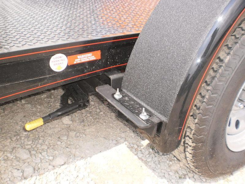 2021 Kwik Load 7x20 Texas Rollback Steel Open Car Hauler 7k