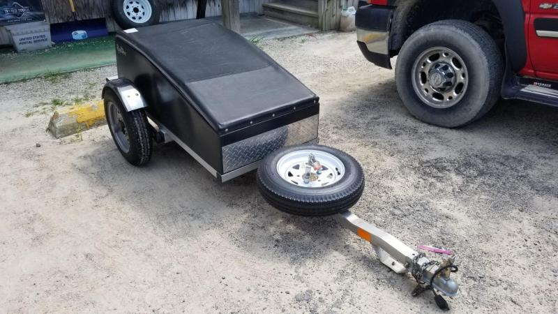 FOR RENT ONLY #26 Road Dog Pull Behind Motorcycle Trailer