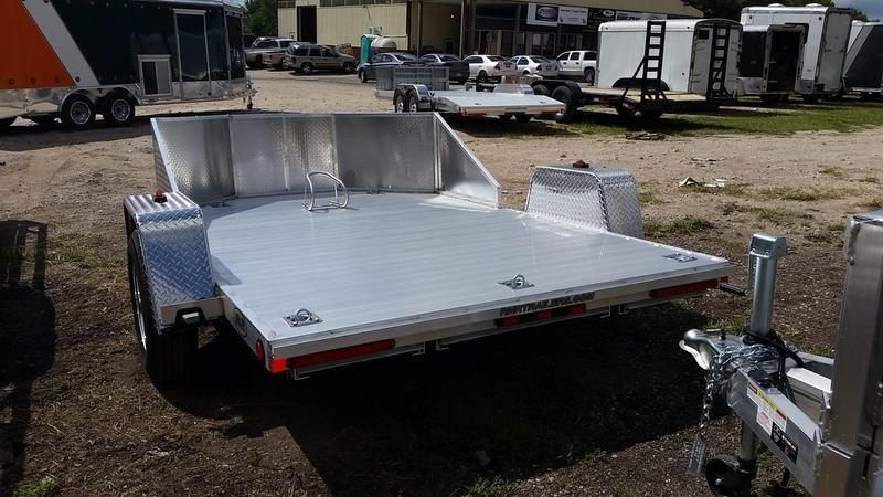 ON ORDER 2022 R and R OMC3 All Aluminum Motorcycle Trailer w/Slide Out Ramps 3k