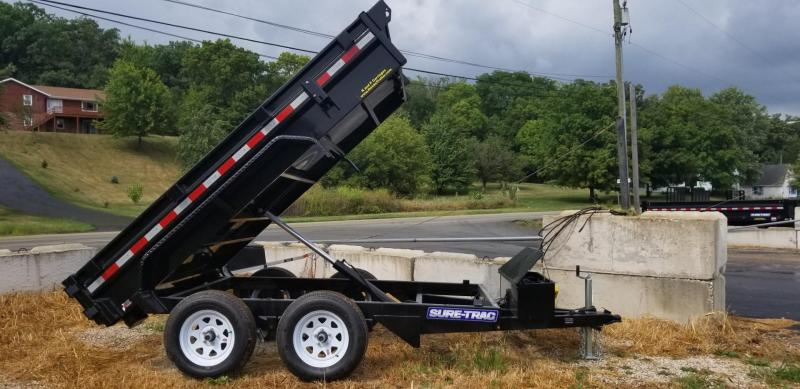 2021 Sure-Trac 62x10 Single Ram Dump Trailer 7k