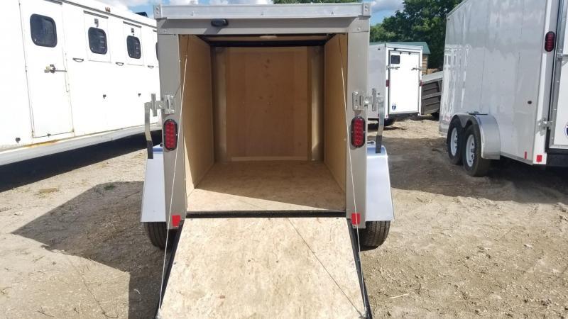 2020 Interstate 4x6 STW Enclosed Cargo Trailer 3k