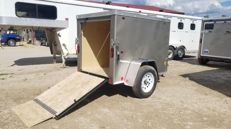 2020 Interstate 4x6 STW Enclosed Cargo Trailer 3k