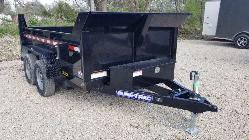 ON ORDER 2021 Sure-Trac 72x10 Single Ram Dump Trailer 7k