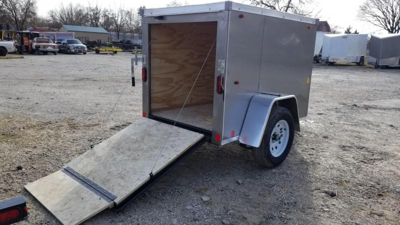ON ORDER 2020 Interstate 4x6 SFC Enclosed Cargo Trailer 3k
