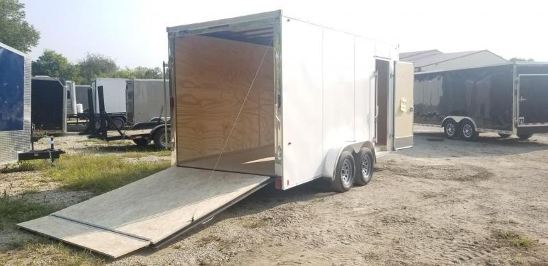 2021 Interstate 7x16 IFC Enclosed Cargo Trailer 7K