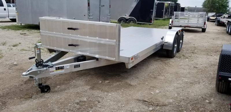 ON ORDER 2020 R&R 7x18 All Aluminum Car Hauler 7k