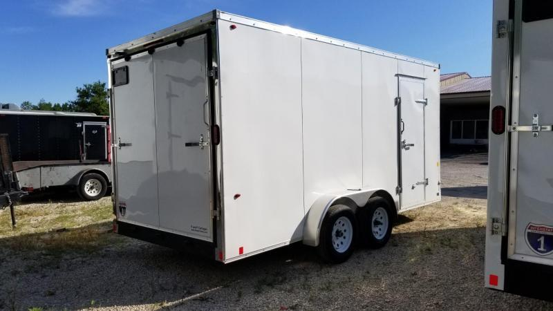 2021 Interstate 7x16 IFC Enclosed Cargo Trailer 7K