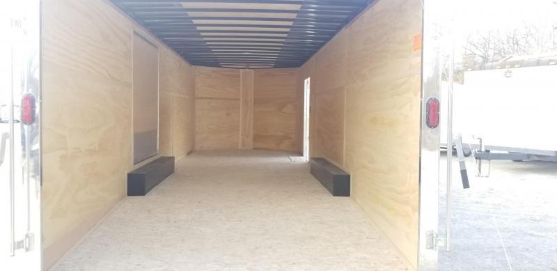 2021 Interstate 8.5x24 SFC Steel Enclosed Car Hauler Trailer 10k