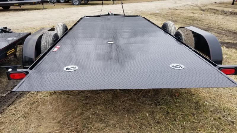 2021 Kwik Load 7x18 Steel Texas Rollback Auto Hauler 7k