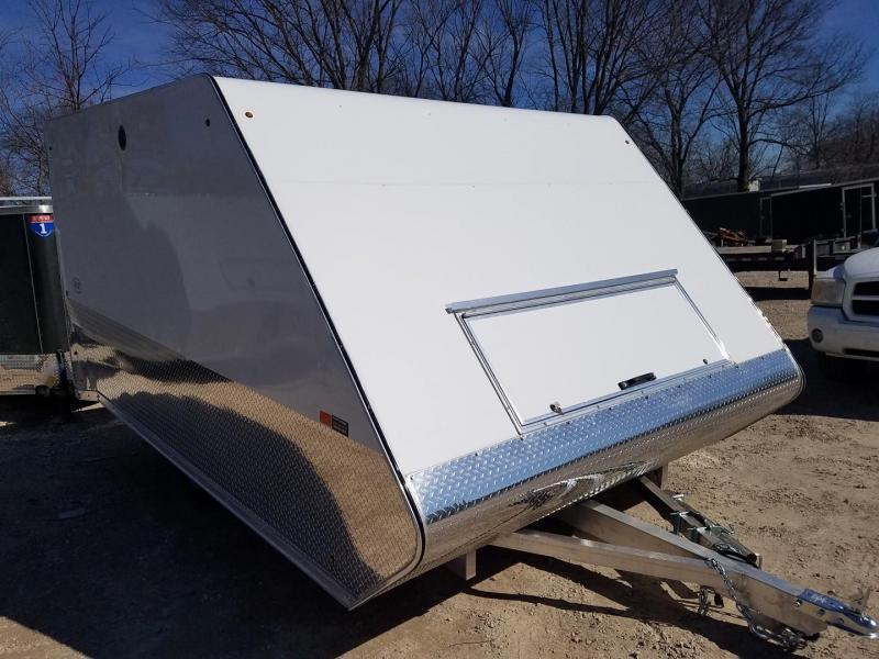 On Order 2021 R and R 12ARC Aluminum 2 Place Snowmobile Trailer 3k