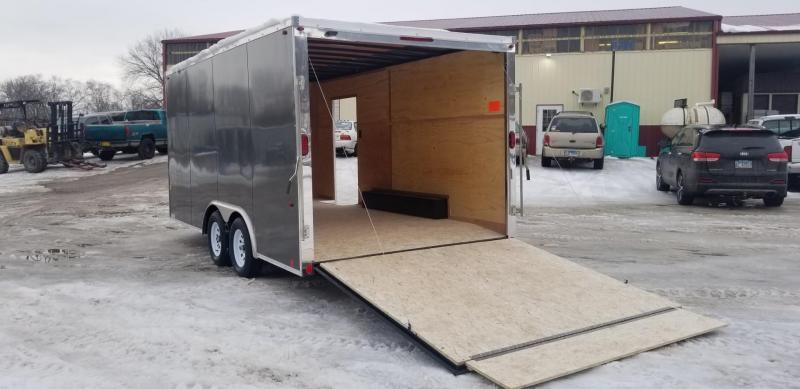 2021 Interstate 8.5x16 IFC Enclosed Cargo Trailer 7k