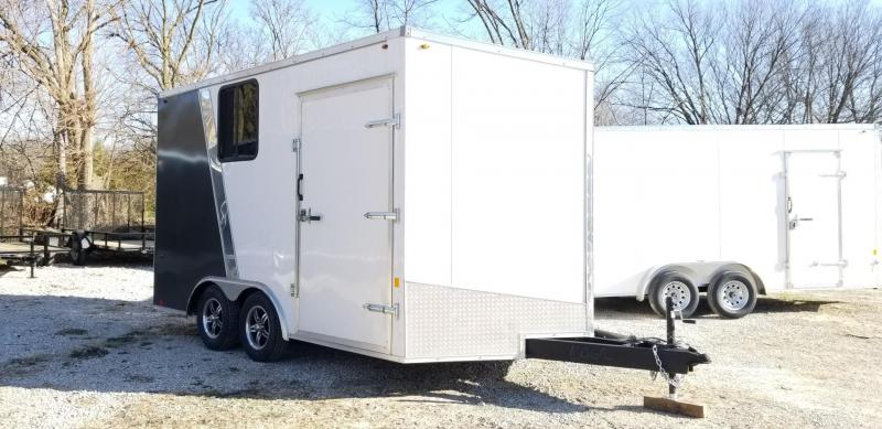 2021 Interstate 8.5x14 IFC Enclosed Cargo Trailer 7K