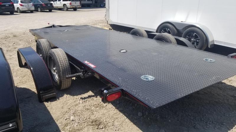 ON ORDER 2021 Kwik Load 7x18 Steel Texas Rollback Auto Hauler 7k
