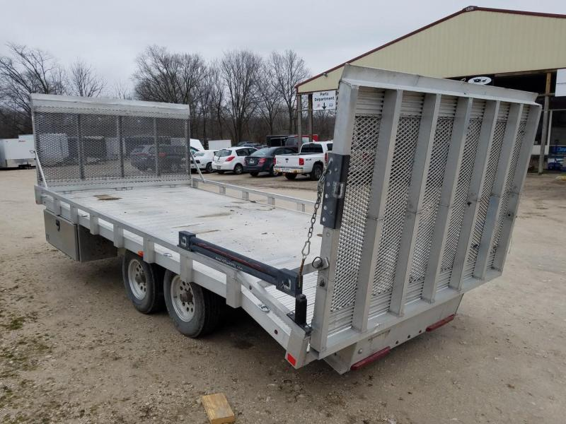 2014 SIC Metals 92x17 All Aluminum Utility Trailer w/Ramp 10K