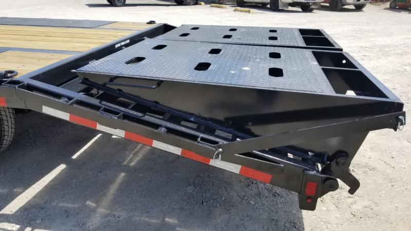 2022 Sure-Trac 8.5x25+5 Heavy Duty Equipment Trailer w/Full Width Ramps 22.5k