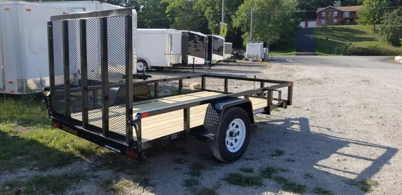 2022 Sure-Trac 7x12 Tube Top Utility Trailer w/Spring Assisted Gate 3k