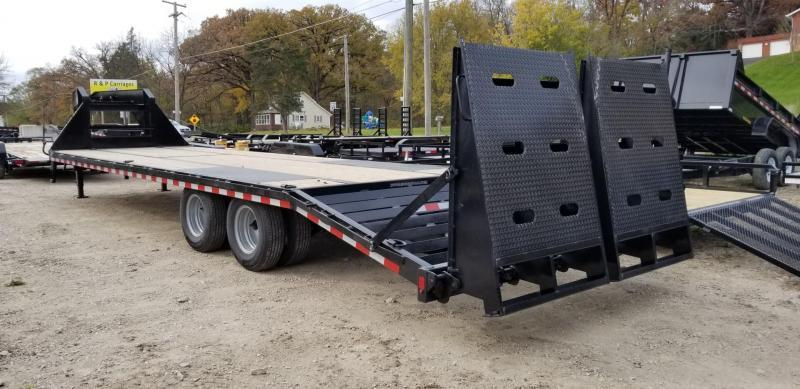 2021 Sure-Trac 8.5x25+5 Heavy Duty Gooseneck Equipment Trailer 20k
