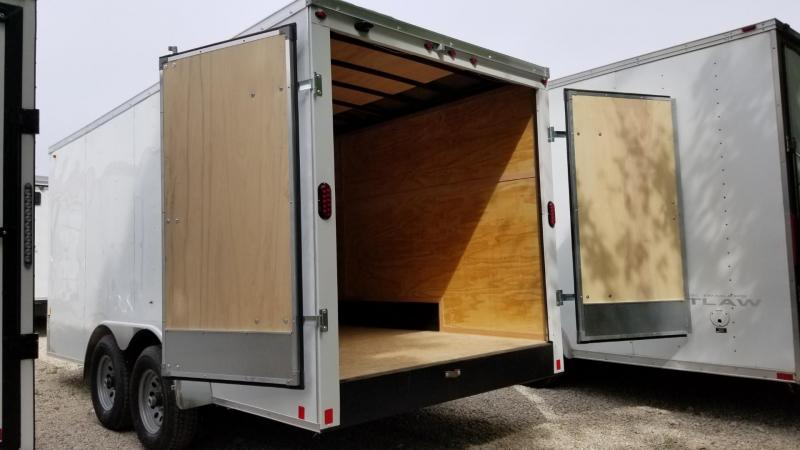 2020 Interstate 7x16 STW Enclosed Cargo Trailer 10k