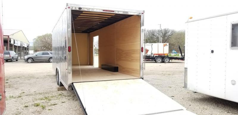 2021 Interstate 8.5x24 ITW Heavy Duty Enclosed Cargo 14k