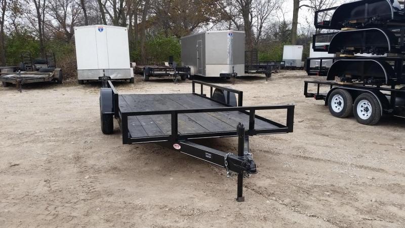 2021 M.E.B 82x14 ATV Utility Trailer w/Extra Width 3k