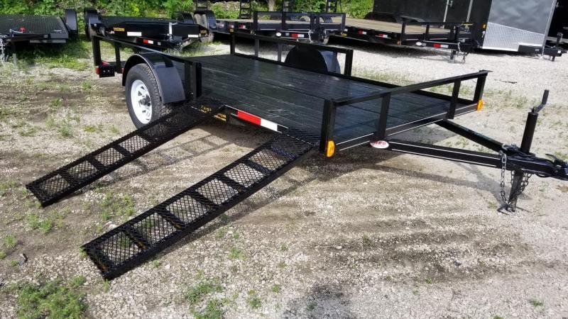 2020 M.E.B 82x12 Angle Iron ATV Utility Trailer w/Extra Width 3k