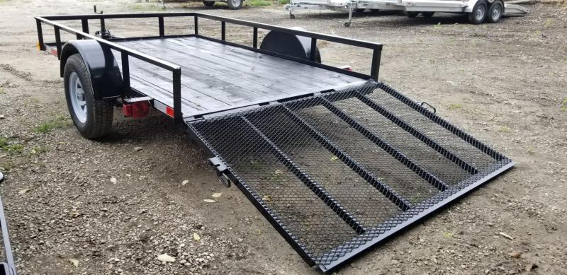 2020 M.E.B 6.4x10 Angle Iron Utility Trailer w/Gate 3k