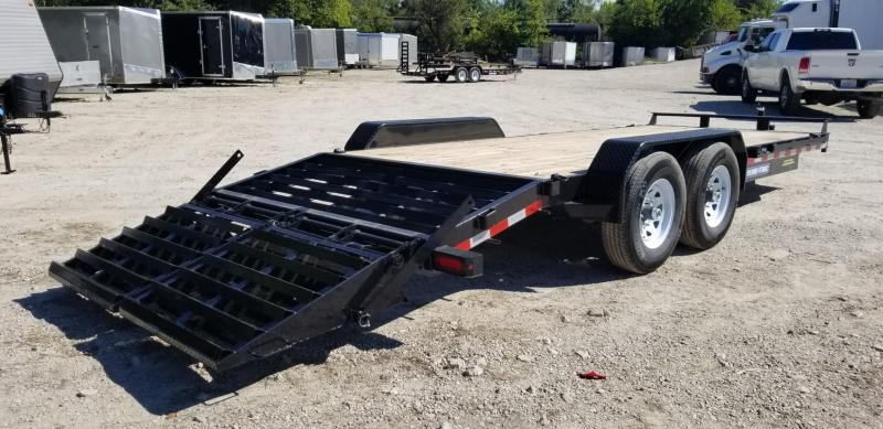2021 Sure-Trac 7x17+3 Equipment Trailer 14k